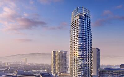 V Bratislave vyrastie prvý slovenský mrakodrap, projekt Eurovea 2 získal dôležité rozhodnutie