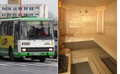 V bratislavskej MHD sa uskutoční prvé verejné saunovanie. Vtipný event si uťahuje z podmienok, ktoré vládnu vo vozidlách