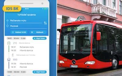 V bratislavskej MHD si už môžeš kúpiť lístok cez mobilnú aplikáciu