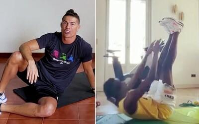V březnu porazil Covid-19, nyní překonal Cristiana Ronalda v náročné výzvě. Na olympioničku se ale nechytá nikdo