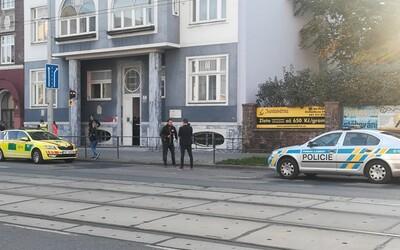 V Brně na Palackého třídě se střílelo, jedna žena zraněním podlehla