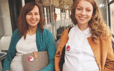 V Brně si budou moci těhotné ženy říci o místo k sezení prostřednictvím odznaků, které budou rozdávat i revizoři