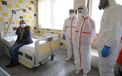 V brněnské nemocnici jsou další dva pacienti s Covid-19 ve vážném stavu