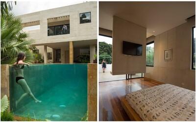 V bývalém městě Pabla Escobara se tyčí honosné sídlo s bazénem, jaké je snem mnoha z nás