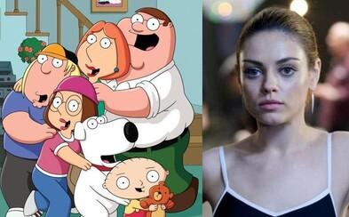 V celovečernej verzii Family Guy opäť začujeme Milu Kunis, ale aj ostatných pôvodných dabérov