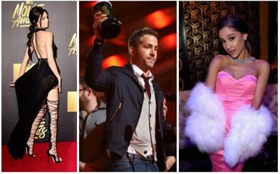 V čem se celebrity blýskly na MTV Movie Awards a kdo získal zlatý popcorn?