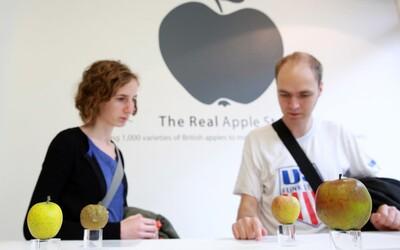 "V centre Londýna otvorili prvý ""Apple store"" s ozajstnými jablkami"