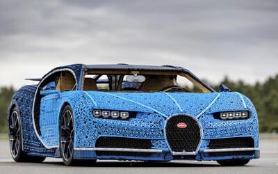 V Česku bol z Lega postavený funkčný superšport Bugatti Chiron. Má životnú veľkosť a trvalo to cez 13 000 hodín