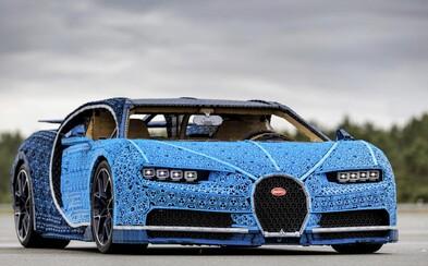 V Česku byl postaven z Lega funkční supersport Bugatti Chiron! Má životní velikost a trvalo to přes 13 000 hodin