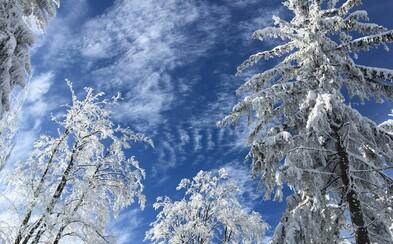 V Česku byly v noci mrazy až -24,6 °C, několik stanic naměřilo rekordy