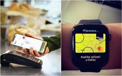 V Česku môžeš oddnes platiť iPhonom či hodinkami Apple Watch. Na Slovensko príde novinka onedlho