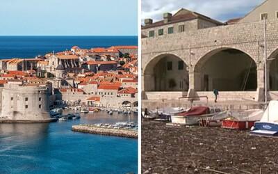 V Chorvatsku čelí ekologické katastrofě. Pobřeží se proměnilo na smetiště, kde uvízly lodě