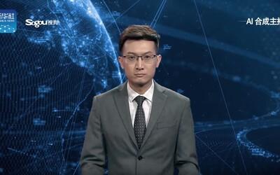 V Číně už začal zprávy uvádět moderátor vytvořený umělou inteligencí