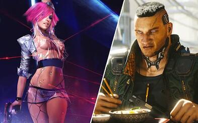 V Cyberpunku 2077 si budeš moci vytvořit postavu s obrovskými genitáliemi, prsy a jinými částmi těla