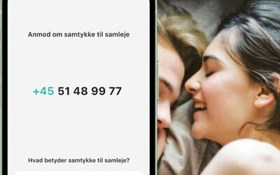 V Dánsku spustili aplikaci, ve které si milenci udělují souhlas se sexuálním stykem. Je platný na jeden sex a 24 hodin