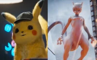 V Detective Pikachu si zabojuje aj legendárny Mewtwo. Pokémoni z tvojho detstva sú späť