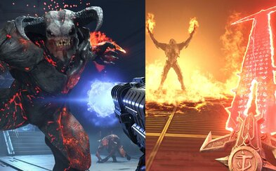 V DOOM Eternal budeš zabíjet démony brutálněji než kdy předtím. Napadnout můžeš i jiného hráče v jeho kampani