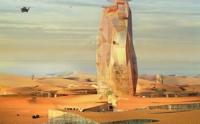 V dunách Sahary by mohl vyrůst luxusní mrakodrap zastřešující hotel nebo meteorologickou observatoř