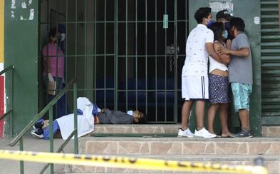 V ekvádorském městě mizí těla mrtvých, které zabil koronavirus