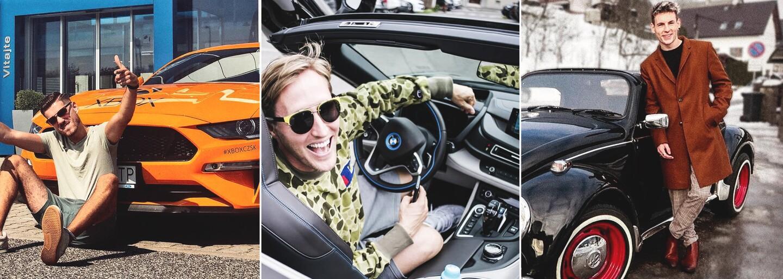 V garážach slovenských influencerov sa skrývajú aj kúsky za 350 000 €. Na akých autách sa vozia známe slovenské tváre?