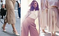 V hlavní roli culottes aneb široké kalhoty pod kolena, které vypadají jako sukně