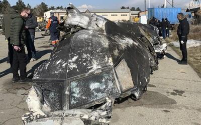 V Íránu byly zadrženy podezřelé osoby, které měly stát za sestřelením letadla se 176 lidmi
