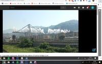 V Itálii odpálili dálniční most, který se loni zhroutil a způsobil tragédii