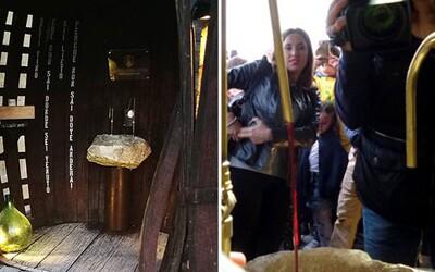V Itálii otevřeli fontánu na víno, ze které se může napít kdokoliv zcela zdarma