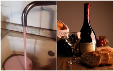 V Itálii teklo lidem doma z kohoutků víno místo vody. Vinařství se za chybu omluvilo