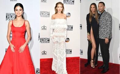 V jakých outfitech celebrity zazářily na AMAs 2016?
