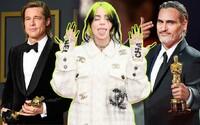 V jakých outfitech přišla na udělování Oscarů Billie Eilish, Margot Robbie nebo Brad Pitt?