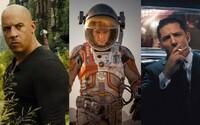 V kinách sa v októbri nudiť nebudete. Čakajú nás dobrodružstvá na Marse, v minulosti, ale aj vo fantasy