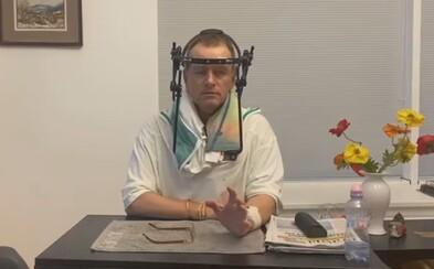 V Kollárovej nemocničnej izbe sú zakázané návštevy aj video. On tam natáčal do Siedmeho neba a pozýval politikov aj priateľky