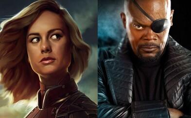 V komiksovej snímke Captain Marvel sa vráti aj Samuel L. Jackson s postavou Nicka Furyho!