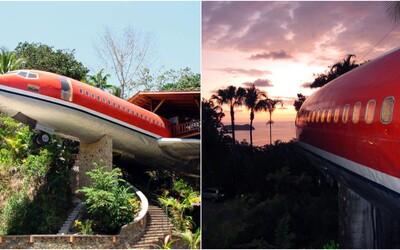 V kostarickej džungli vytvorili zo starého Boeingu unikátny hotel. Apartmán ponúka úžasný výhľad na Pacifik či prítomnosť exotických zvierat
