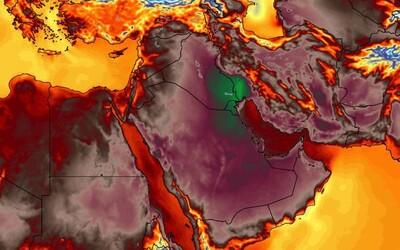 V Kuvajtu naměřili nejvyšší teplotu vůbec. Teploměr ukazoval až 54 stupňů Celsia a nával horka by ještě neměl skončit