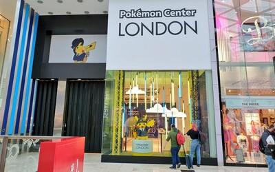 V Londýne otvorili oficiálny obchod Pokémon Centre. V rade sa čaká viac než 5 hodín