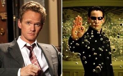 V Matrixe 4 uvidíme Barneyho z How I Met Your Mother aj manželku Willa Smitha z pôvodnej trilógie