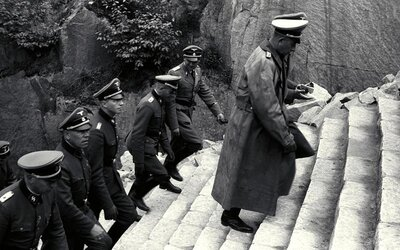 V Mauthausenu nutili příslušníci SS vězně k sebevraždám skokem pro vlastní pobavení. Věznili zde na 8 tisíc Čechů a Slováků