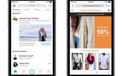 V Messengeru přibudou otravné reklamy. Nevítaná aktualizace ti znepříjemní chatování s kamarády