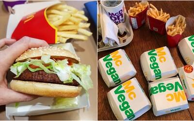 V německém McDonaldu si už můžeš koupit veganský burger. Přijde pochoutka i do Česka?