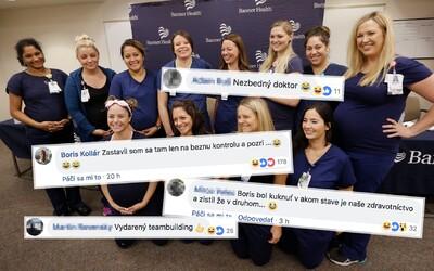 V nemocnici súčasne otehotnelo 16 sestričiek. Vtipné internetové reakcie na seba nenechali dlho čakať
