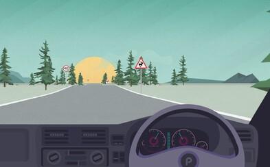 V nenáročnej hre si môžete otestovať vaše pohotové reakcie spoza volantu auta a zistiť, aký ste vodič