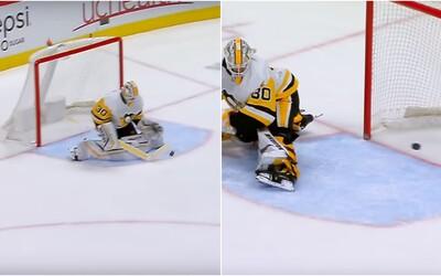 V NHL padol gól, ktorý bude brankára strašiť do konca kariéry. Puk mu odskočil priamo pred očami