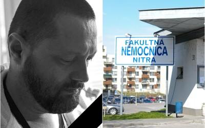 V Nitre zomrel na koronavírus zdravotník z prvej línie: Jednu zimu bez lyží a sánkovačky vydržíte, odkazuje verejnosti kolega
