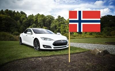 V Norsku se poprvé prodalo více aut na elektrický pohon než se spalovacím motorem