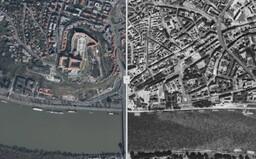 V novej appke môžeš porovnať, ako sa zmenili štvrte Bratislavy od 60.rokov