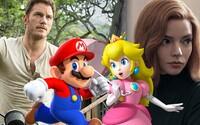 V novém Super Mariovi budou hrát megahvězdy jako Chris Pratt, Anya Taylor Joy či Jack Black