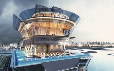 V novom dubajskom hoteli vás uchváti bazén s parádnym 360-stupňovým výhľadom na okolie