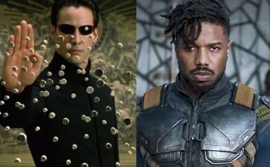 V novom Matrixe by mal hrať Michael B. Jordan. O réžiu sa postará Lana Wachowski